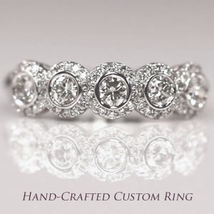 Hand-crafted custom ring